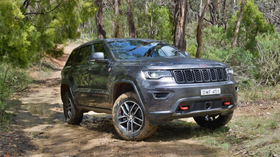 Jeep Grand Cherokee Trailhawk 2018 review