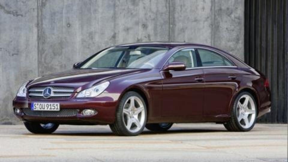 2008 Mercedes CLS update