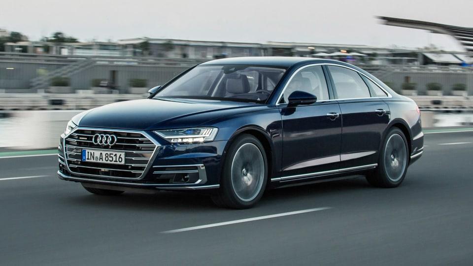 2018 Audi A8.