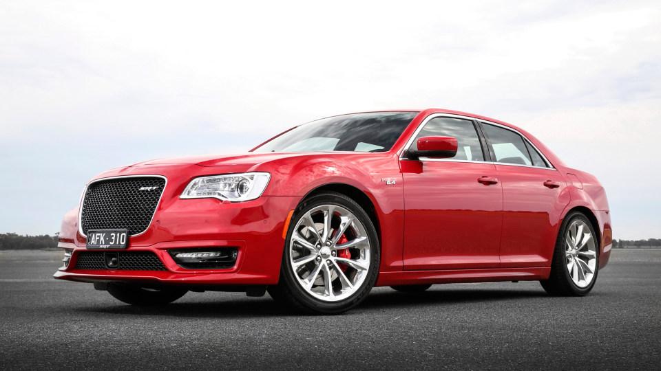 Chrysler 300 SRT for road test rivals
