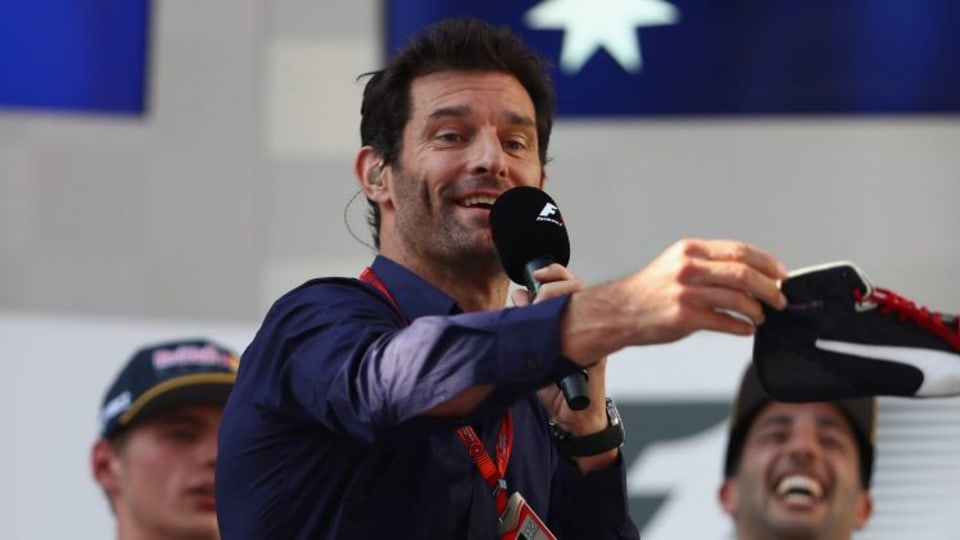 Mark Webber will spend much of the 2017 F1 season driving a microphone.