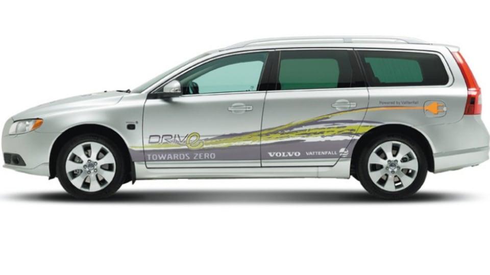 First drive: Volvo V70 plug-in hybrid