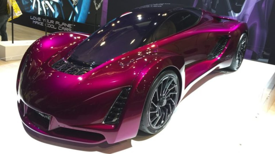 3D-printed car builds new future for manufacturing