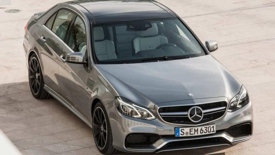 New Mercedes-Benz E63 AMG.