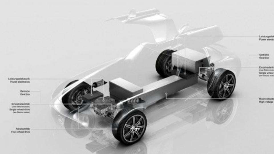 Electric Mercedes-Benz SLS Begins Road Testing: Report