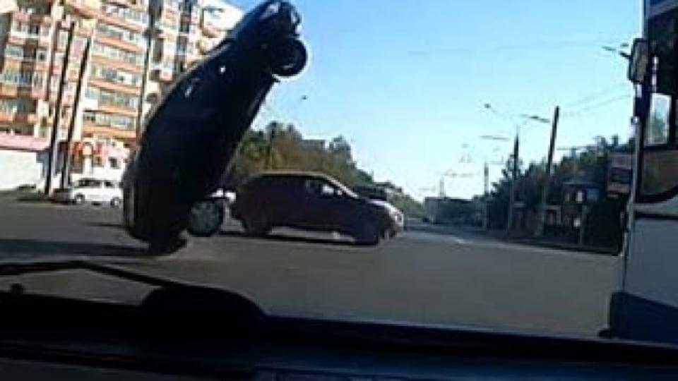 Car flips