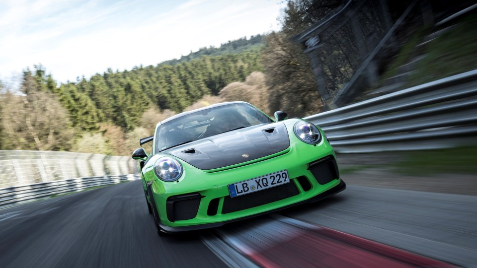 Porsche's Kevin Estre piloted the new GT3 RS to a sub-seven-minute lap of the Nurburgring.