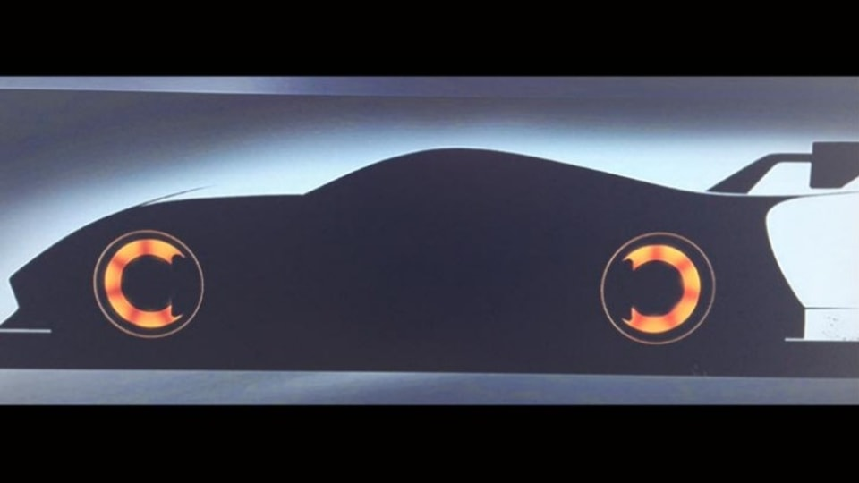 Toyota's new sports car has been teased in Gran Turismo 6.