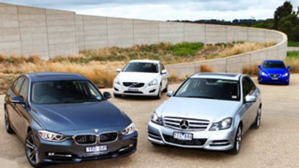 Junior executives: BMW v Lexus v Volvo v Mercedes-Benz