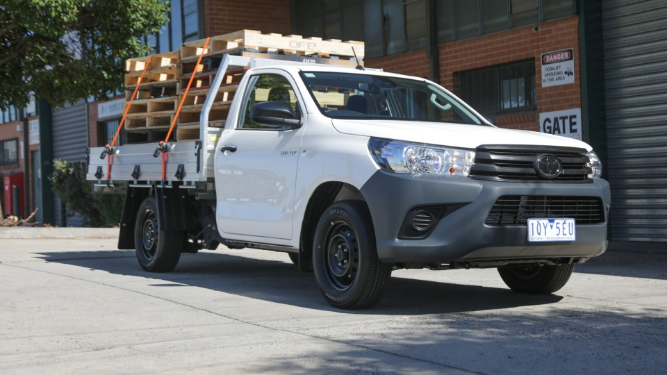 2020 Toyota HiLux Workmate review: 4×2 petrol auto