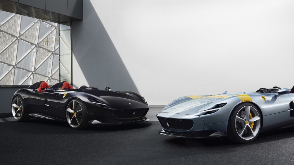 Ferrari Monza SP1 and SP2.