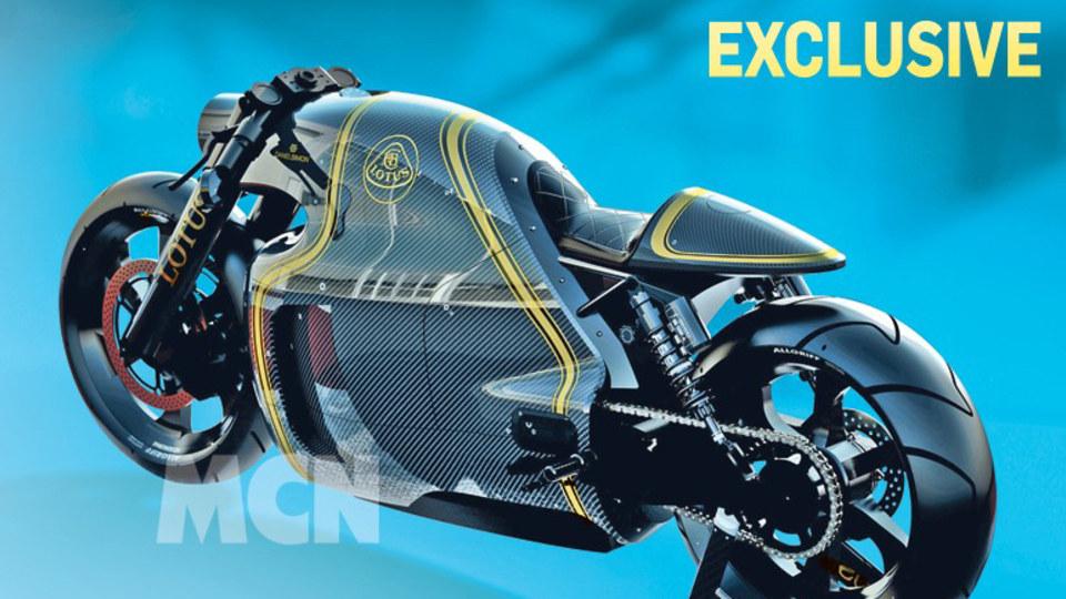 Lotus C-01 Motorbike - Leaked