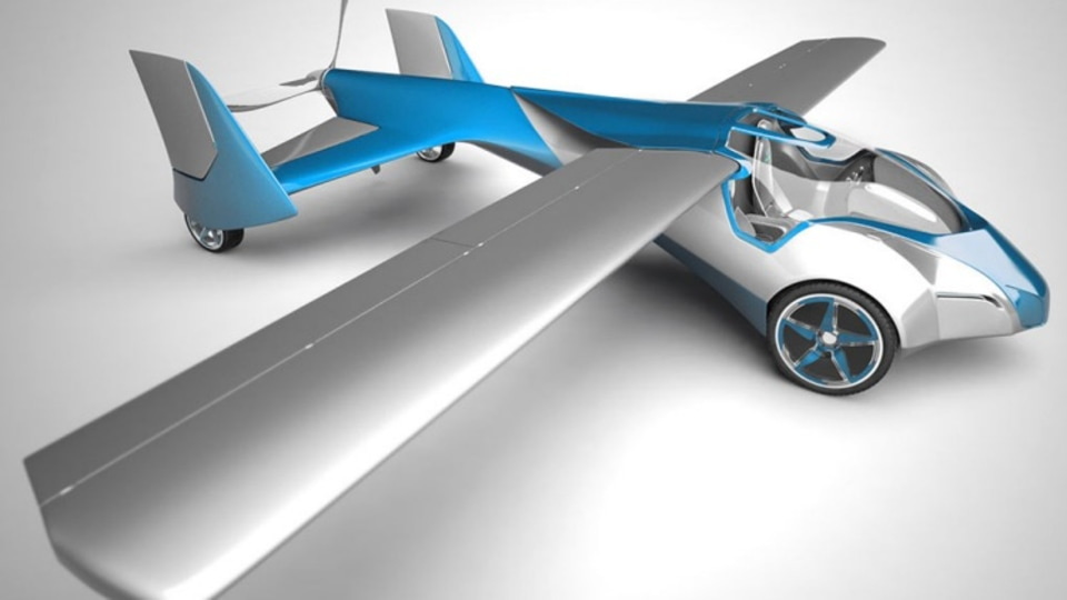 The Aeromobil has a top speed of 200km/h, with a maximum range of 700 kilometres when flying.