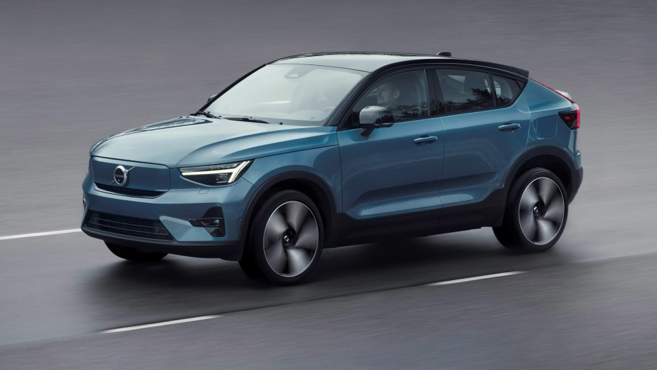 2022 Volvo C40 Recharge electric SUV unveiled, Australian launch late 2022
