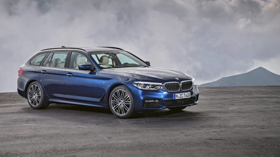 2017 BMW 5 Series Touring Unveiled Overseas