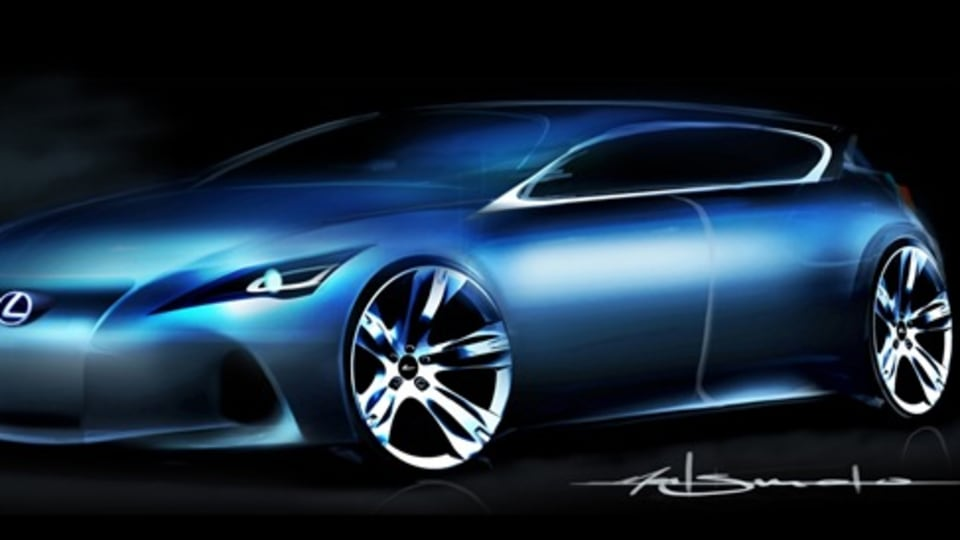 Lexus Premium Compact Concept To Be Unveiled At Frankfurt Motor Show: Official