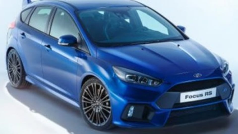 2015 Ford Focus RS leaked