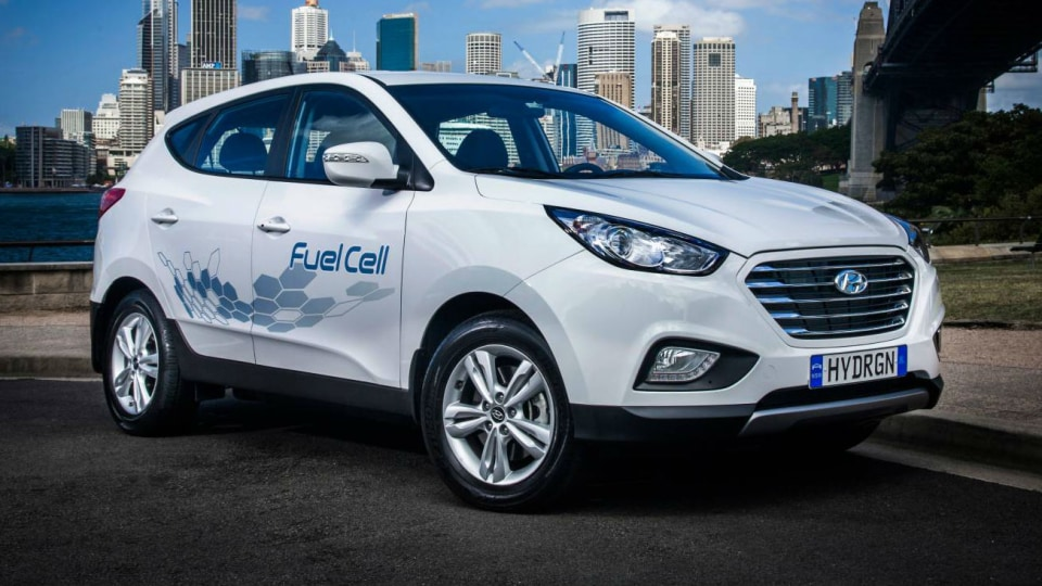 Hyundai ix35 Fuel Cell, Hydrogen Refuelling Station Unveiled In Sydney