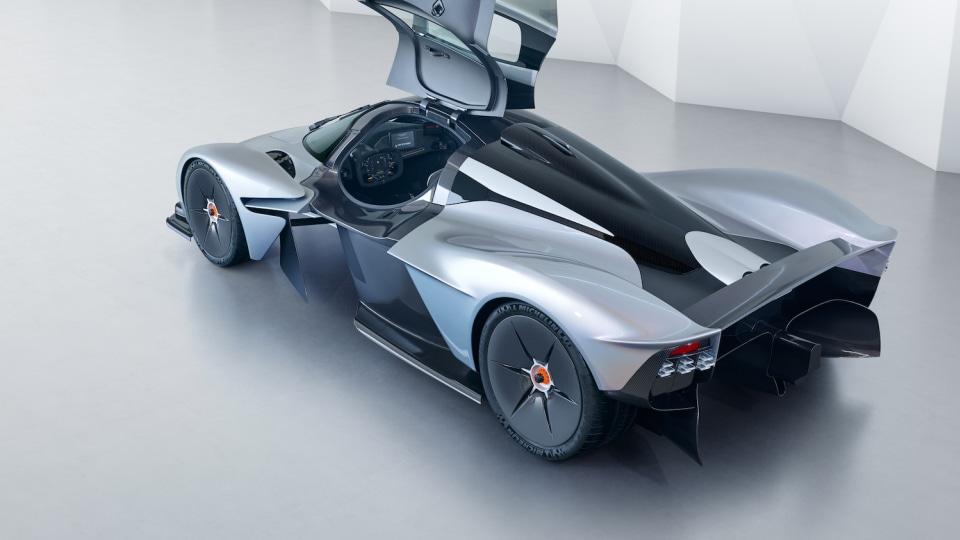 Aston Martin Valkyrie Design Details Revealed