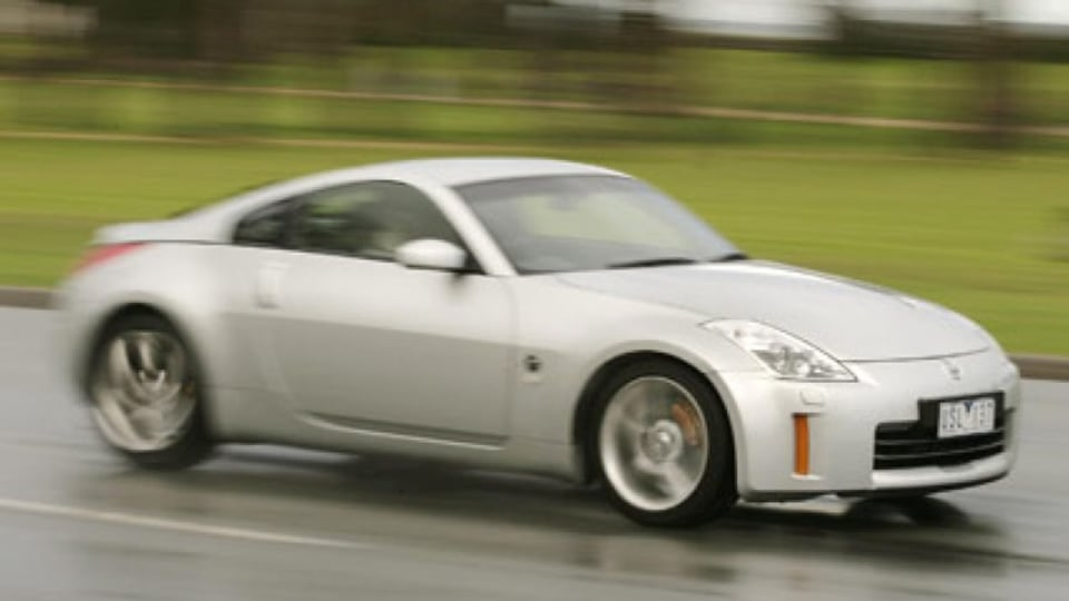 The 3.5-litre V6 engine in Nissan's 350Z Track delivers a hefty 230 kW of power. Picture: Eddie Jim