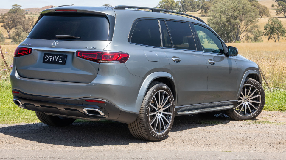 Drive Car of the Year Best Upper Large Luxury SUV 2021 finalist Mercedes-Benz GLS-Class
