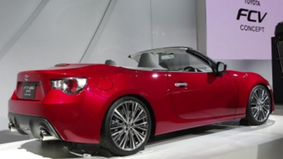 Report: Toyota cancels plans for convertible 86