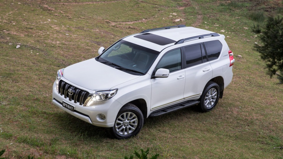 Toyota Prado Altitude Special Edition Returns For 2017