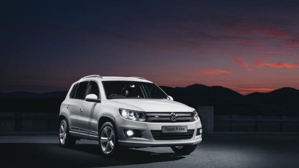 Volkswagen Tiguan R-Line quick spin