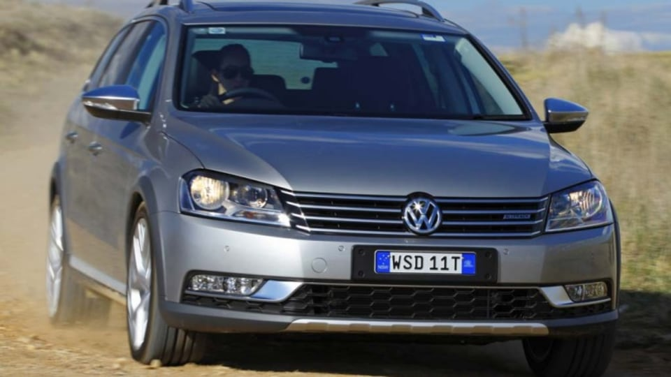 Skoda's more expensive cousin, Volkswagen, also has a quality wagon in the Passat Alltrack.