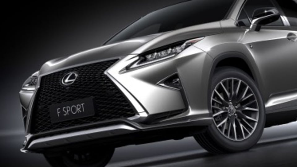 Lexus confirms turbo power for RX SUV
