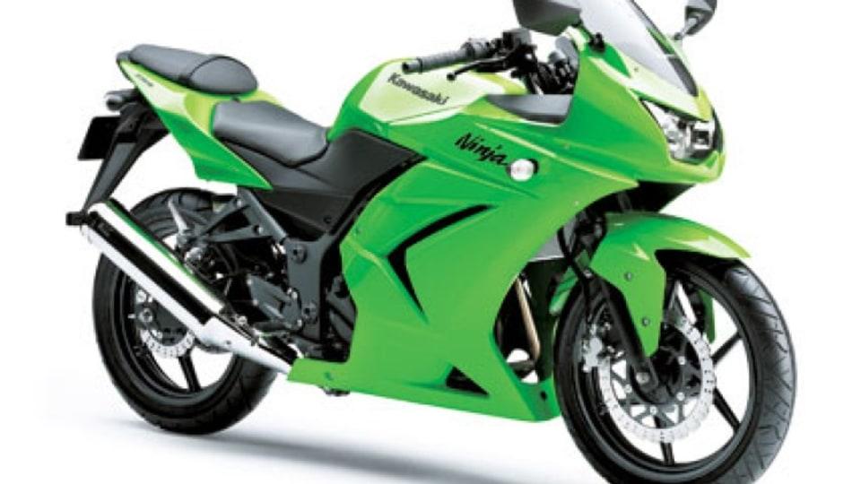 Kawasaki Ninja 250R, the top selling motorcycle in the land.