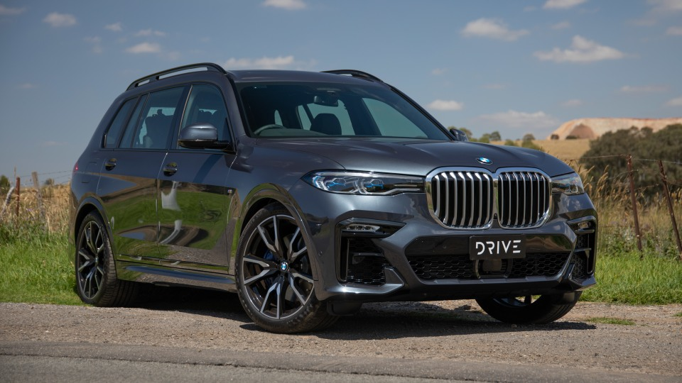 Drive Car of the Year Best Upper Large Luxury SUV 2021 BMW X7