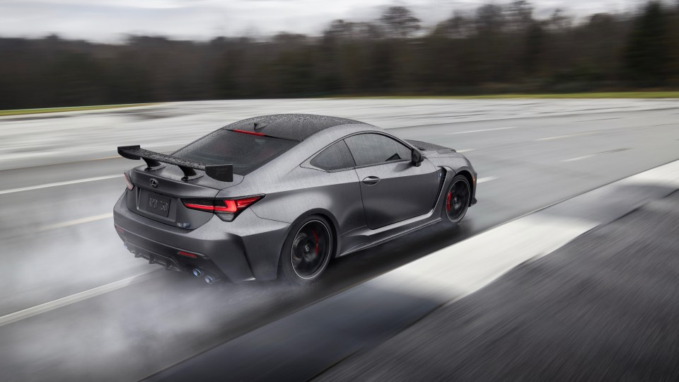 Lexus RC F and RC F Track Edition unveiled