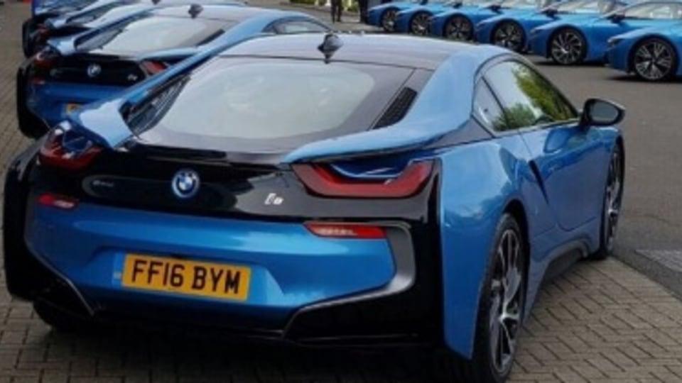 Premier League champions receive BMW i8s