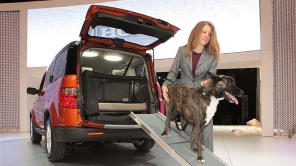 Honda Goes To The Dogs: Dog Friendly Element Comes To New York