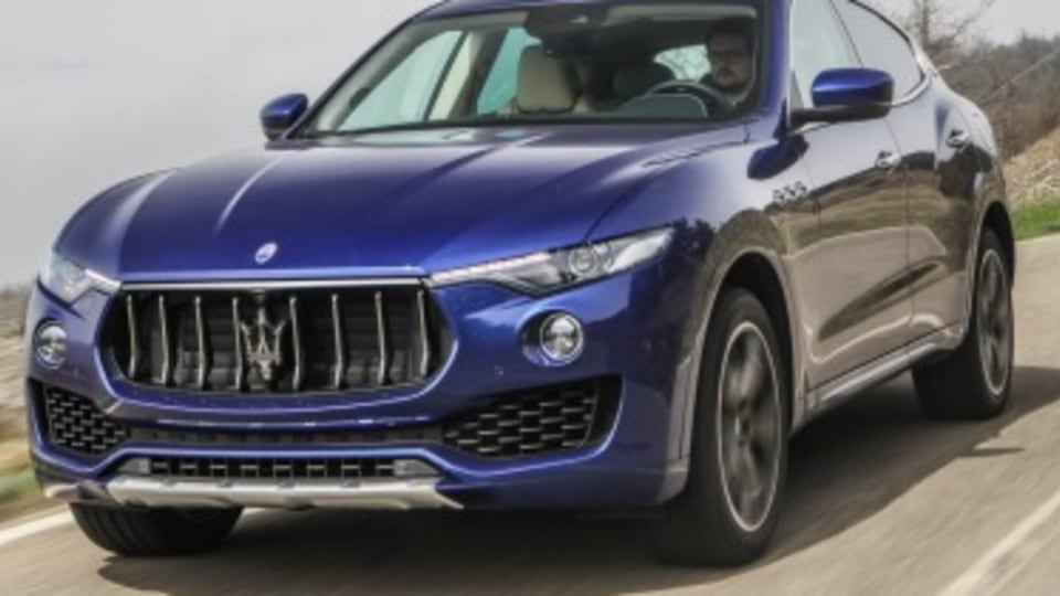 Maserati Levante first drive review