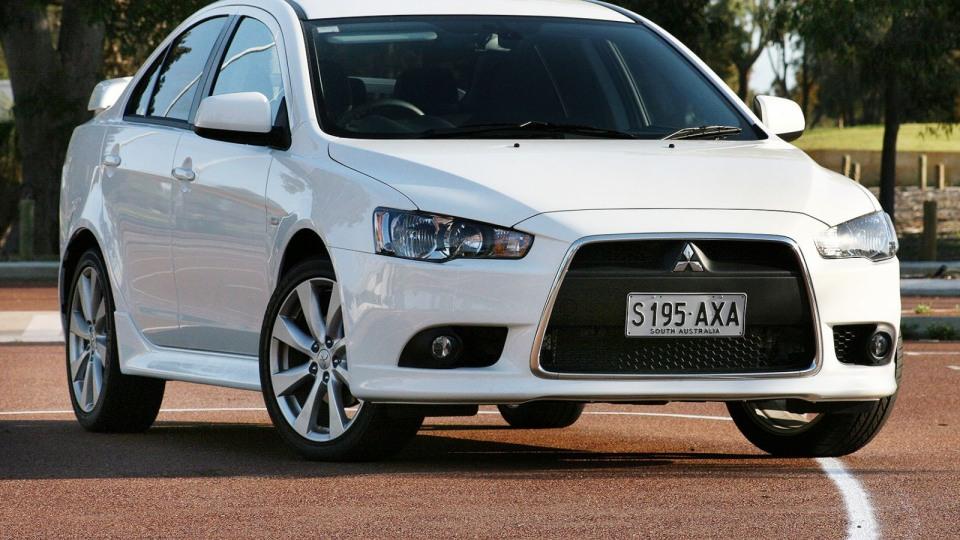 2013 Mitsubishi Lancer VRX Sedan CVT Review