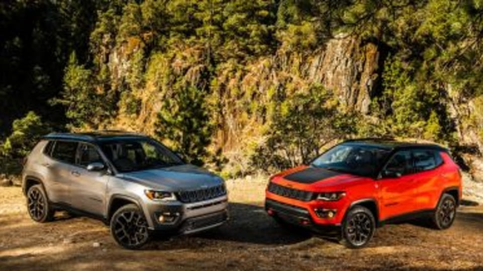 Jeep? Compass Limited and Jeep? Compass Trailhawk 2017 Jeep Compass.