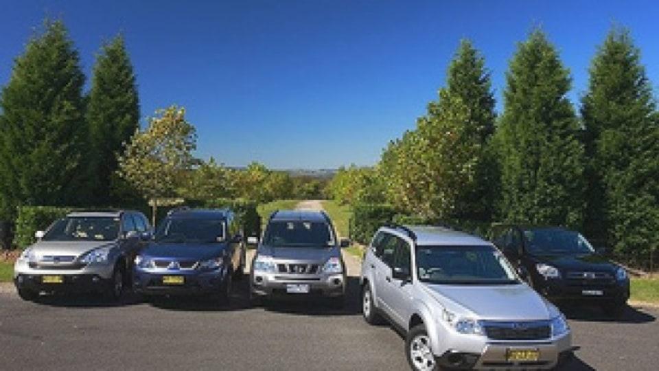Subaru forester comparo