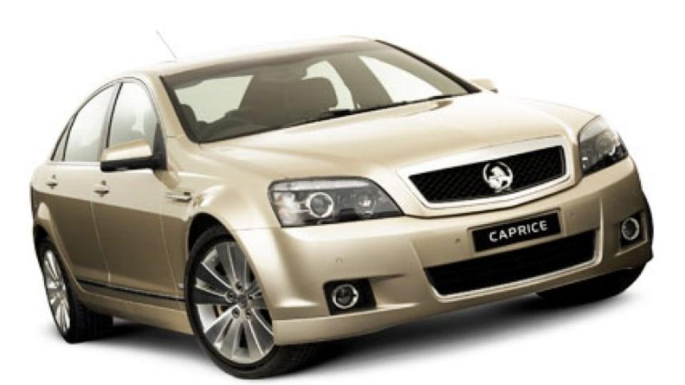 2006 Holden WM Caprice.