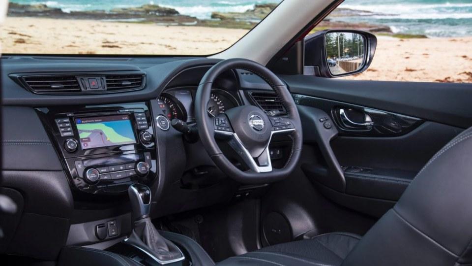 Nissan X-Trail Ti AWD petrol.