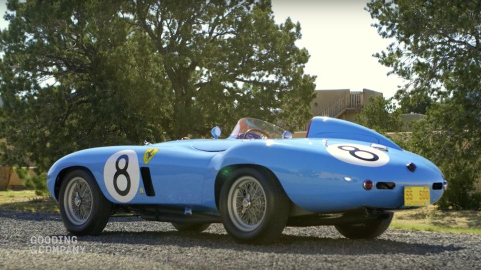 Ret. Admiral Robert Phillips is selling his classic Ferrari.