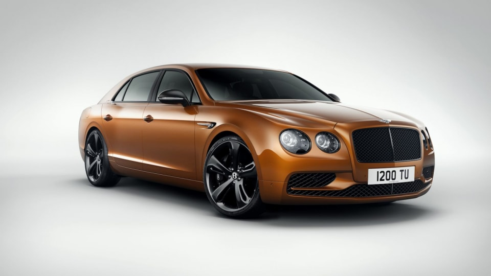 Bentley Reveals Fastest-Ever Four-Door With The Flying Spur W12 S