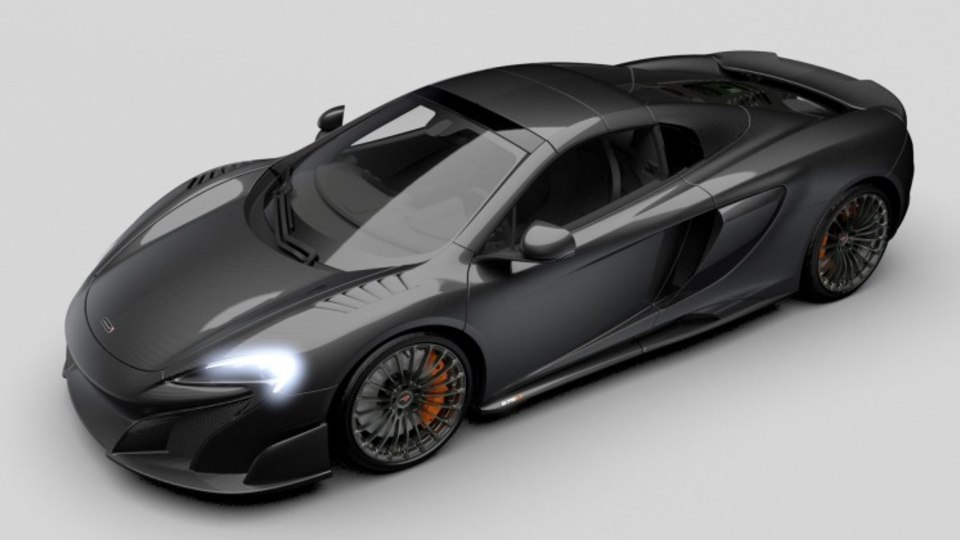 McLaren MSO Carbon Series LT.