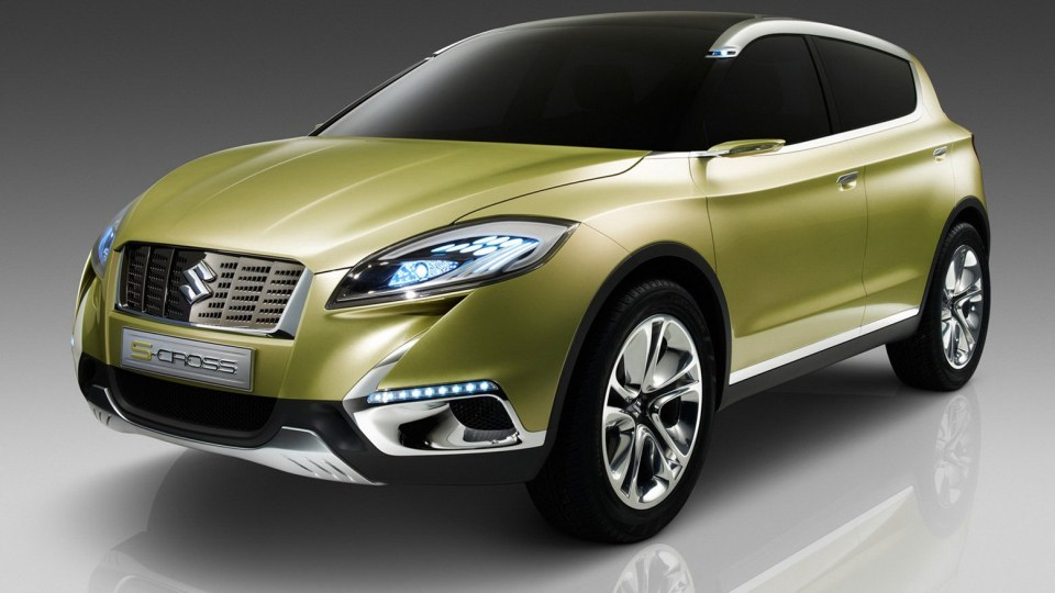 Suzuki S-CROSS Concept Revealed, Hints At New SX4?