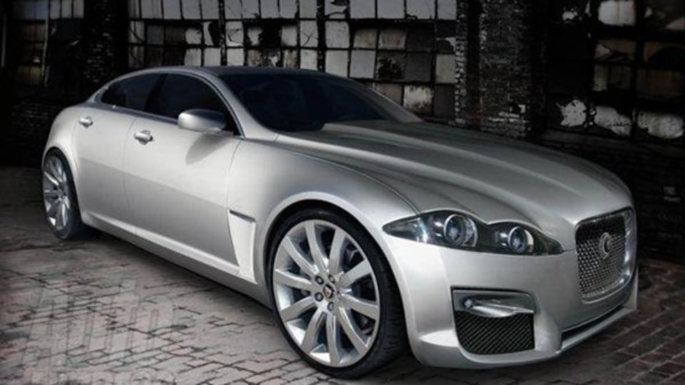 2010 Jaguar XJ Electric Vehicle In The Works?
