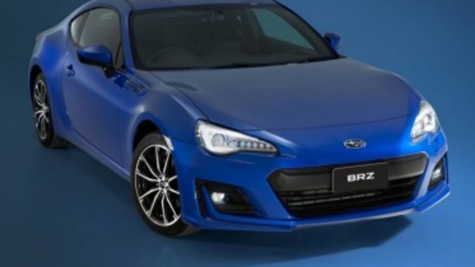Subaru has revised its BRZ sports car for 2016.