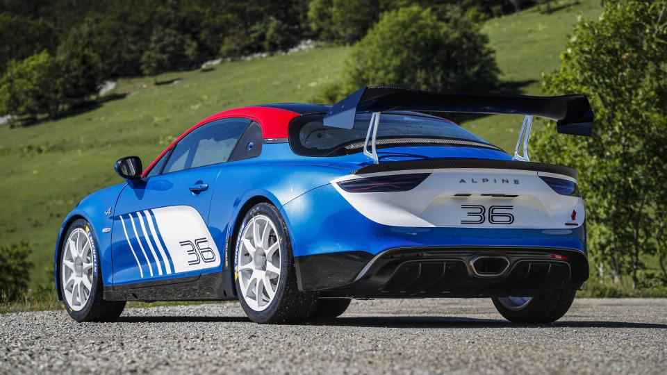 Alpine A110 gets a rally makeover