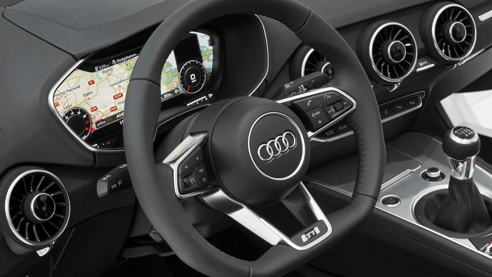 Audi Reveals New TT (Interior...) At Consumer Electronics Show