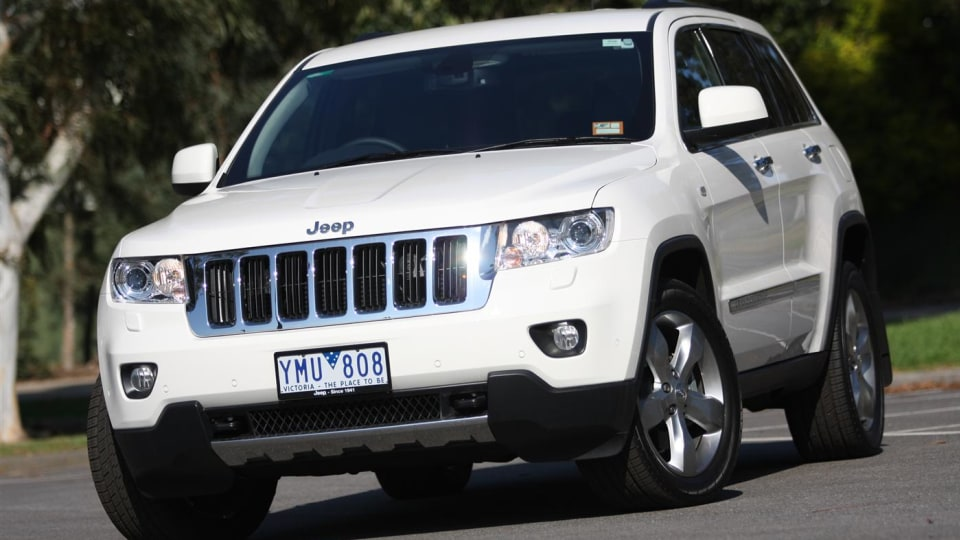 2013 Jeep Grand Cherokee Due For 8-speed Auto